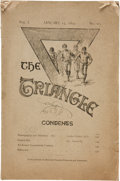Basketball Collectibles:Others, 1892 The Triangle YMCA Magazine Introducing Basketball....
