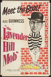 """The Lavender Hill Mob (Universal International, 1951). One Sheet (27"""" X 41""""). Comedy"""