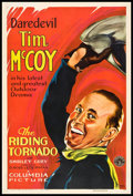 "Movie Posters:Western, The Riding Tornado (Columbia, 1932). One Sheet (27"" X 41"").Western.. ..."