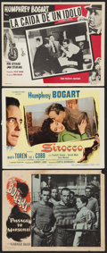 """Movie Posters:War, Passage to Marseille Lot (Warner Brothers, 1944). Lobby Cards (2)(11"""" X 14""""), and Mexican Lobby Card (11.25"""" X 14). War.. ...(Total: 3 Items)"""