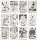 Football Cards:Sets, 1977 Touchdown Set Signed Cards Set of 50....