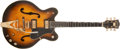 Musical Instruments:Electric Guitars, 1968 Gretsch Viking Sunburst Electric Guitar, #28311....