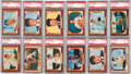 Baseball Cards:Sets, 1955 Bowman Baseball Mid To High Grade Complete Set (320). ...