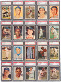 Baseball Cards:Sets, 1957 Topps Baseball High Grade Complete Set (407) With Over 200Graded Cards! ...