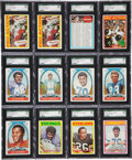 Football Cards:Sets, 1972 Topps Football High Number Collection (475 cards). ...