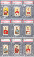 "Hockey Cards:Sets, 1911 C55 ""Hockey Players"" Partial Set (17)...."