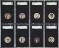 Baseball Cards:Lots, 1909-11 E254 Colgan's Chips SGC-Graded Collection (14). ...
