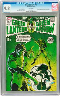 Green Lantern #76 (DC, 1970) CGC NM/MT 9.8 White pages