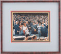 Autographs:Photos, 1980's Richard Nixon & Ted Williams Signed Photograph....