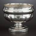 Silver Holloware, American:Coin Silver, AN AMERICAN COIN SILVER BOWL . John Wesley Forbes, New York, NewYork, circa 1830. Marks: I.W. FORBES, (star), (anchor),...