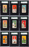 Baseball Cards:Lots, 1909-11 E90-1 American Caramel Collection (28) With Young, Cobb andGraham. ...