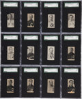 Baseball Cards:Lots, 1903-04 E107 Breisch Williams SGC-Authentic Collection (12) With CyYoung....