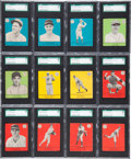 Baseball Cards:Sets, 1941 Goudey R324 Baseball Complete Set (33) - #1 on the SGC SetRegistry! ...