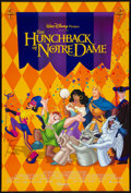 "Movie Posters:Animated, The Hunchback of Notre Dame (Buena Vista, 1996). One Sheets (2) (27"" X 40"") DS Advance & Regular. Animated.. ... (Total: 2 Items)"