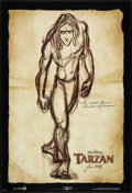 "Movie Posters:Animated, Tarzan Lot (Buena Vista, 1999). One Sheets (3) (27"" X 40"") DSAdvance. Animated.. ... (Total: 3 Items)"