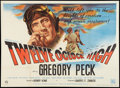 "Movie Posters:War, Twelve O'Clock High (20th Century Fox, 1949). British Quad (29.75"" X 39.75""). War.. ..."