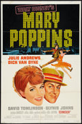 """Movie Posters:Fantasy, Mary Poppins Lot (Buena Vista, R-1974). One Sheets (3) (27"""" X 41"""") Style A. Fantasy.. ... (Total: 3 Items)"""