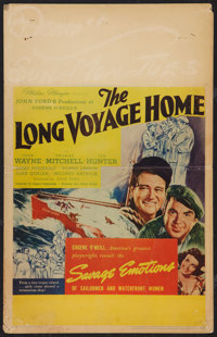 """The Long Voyage Home (United Artists, 1940). Window Card (14"""" X 22""""). Drama"""