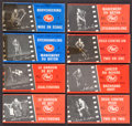 Hockey Cards:Sets, Very Rare 1967-68 Post Cereal Hockey Stars Flip Books High Grade Near Set (11/12) Plus Extras. ...