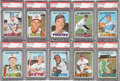 Baseball Cards:Lots, 1967 Topps Baseball PSA MINT 9 Low Pop Collection (10). ...