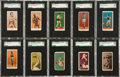 "Boxing Cards:General, 1910's ""E"" Caramel Boxing Collection (37) With E78's. ..."