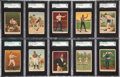 Boxing Cards:General, 1910 T223 Dixie Queen Boxing Partial Set (34/50). ...
