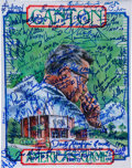 Football Collectibles:Photos, 1990's National Football League Hall of Famers Multi Signed Print....