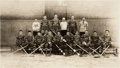 Hockey Collectibles:Photos, Circa 1937-38 Montreal Canadiens Oversized Original Team PhotographBy Jimmy Rice....
