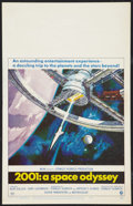 """Movie Posters:Science Fiction, 2001: A Space Odyssey (MGM, 1968). Window Card (14"""" X 22""""). ScienceFiction.. ..."""