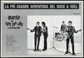 "Movie Posters:Rock and Roll, A Hard Day's Night (United Artists, R-1982). Italian Photobustas(4) (18.75"" X 27.25""). Rock and Roll.. ... (Total: 4 Items)"