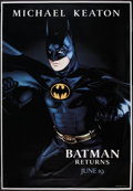 "Movie Posters:Action, Batman Returns (Warner Brothers, 1992). Bus Shelter Posters (3) (48"" X 70"") DS Advance Batman, Catwoman, and Penguin Styles.... (Total: 3 Items)"
