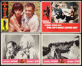 "Movie Posters:James Bond, James Bond Lot (United Artists, 1960s-70s). Lobby Cards (4) (11"" X14""). James Bond.. ... (Total: 4 Items)"