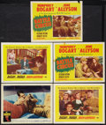 "Movie Posters:War, Battle Circus Lot (MGM, 1953). Lobby Cards (5) (11"" X 14""). War..... (Total: 5 Items)"