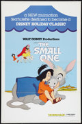 """Movie Posters:Animated, The Small One (Buena Vista, 1978). One Sheet (27"""" X 41"""") Flat Folded. Animated.. ..."""