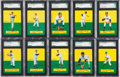 Baseball Cards:Lots, 1964 Topps Stand-Up SGC 84 to SGC 88 NM/MT Collection (22). ...