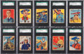 "Non-Sport Cards:Sets, 1934 R136 National Chicle ""Sky Birds"" Graded Collection (39)...."