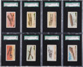 "Non-Sport Cards:Sets, Circa 1910 E40 Philadelphia Caramel ""Airships"" Complete Set (15) -#1 on the SGC Set Registry!..."