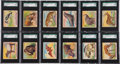 "Non-Sport Cards:Sets, 1933 R78 Goudey World Wide Gum ""Jungle Gum"" Complete Set (48) - #1on the SGC Set Registry! ..."