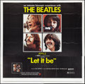 """Movie Posters:Rock and Roll, Let It Be (United Artists, 1970). Six Sheet (81"""" X 81""""). Rock andRoll.. ..."""
