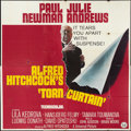 """Movie Posters:Hitchcock, Torn Curtain (Universal, 1966). Six Sheet (81"""" X 81""""). Hitchcock....."""
