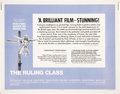 Memorabilia:Movie-Related, The Ruling Class Movie Poster (Avco Embassy, 1972)....