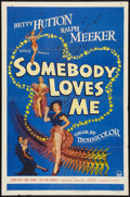 "Movie Posters:Musical, Somebody Loves Me (Paramount, 1952). One Sheet (27"" X 41""). Musical.. ..."