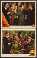 "Movie Posters:Mystery, Song of the Thin Man Lot (MGM, 1947). Lobby Cards (2) (11"" X 14"").Mystery.. ... (Total: 2 Items)"