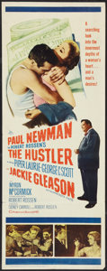 "Movie Posters:Drama, The Hustler (20th Century Fox, 1961). Insert (14"" X 36""). Drama....."