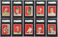Baseball Cards:Lots, 1915 E145-2 Cracker Jack SGC-Graded Collection (19) With Chase. ...