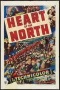 "Movie Posters:Adventure, Heart of the North (Warner Brothers, 1938). One Sheet (27"" X 41"").Adventure.. ..."