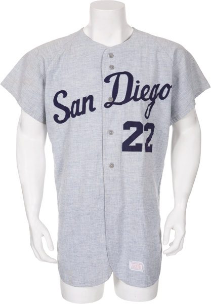 pretty nice e14bc cb332 Mid-1960's San Diego Padres Game Worn PCL Jersey ...