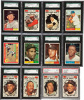 Baseball Cards:Sets, 1961 Topps Baseball High Grade Complete Set (587) - With Over 80 Graded Cards! ...