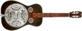 Musical Instruments:Resonator Guitars, 1980s Dobro D60 Sunburst Resophonic Guitar, #D11878....