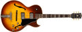 Musical Instruments:Electric Guitars, 1964 Gibson ES-175D Sunburst Electric Arch Top Guitar, #212010....